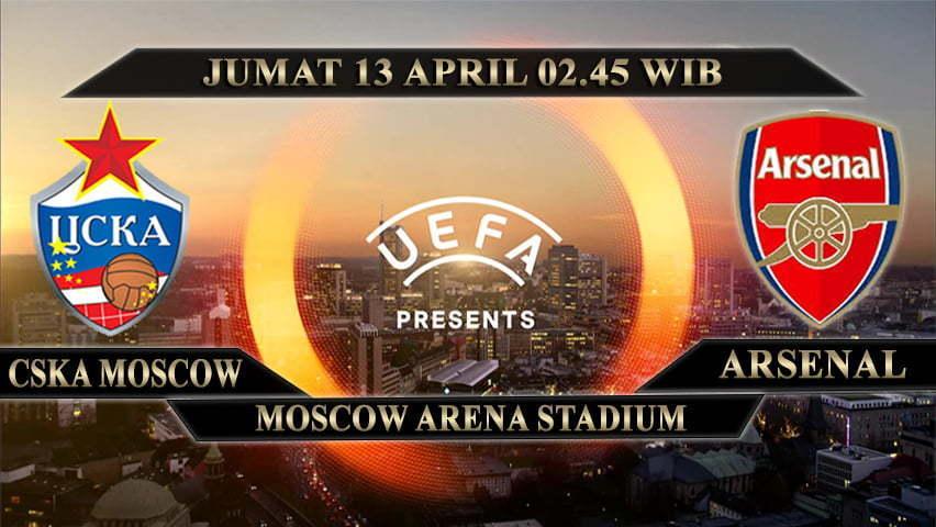 PREDIKSI SKOR CSKA MOSCOW VS ARSENAL