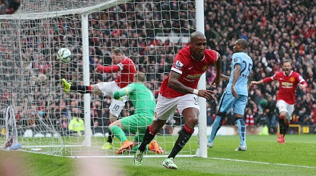 CUPLIKAN GOL MANCHESTER CITY VS MANCHESTER UNITED