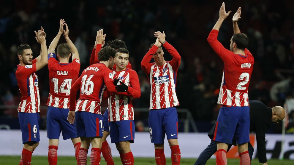 CUPLIKAN BOLA MARSEILLE VS ATLETICO MADRID