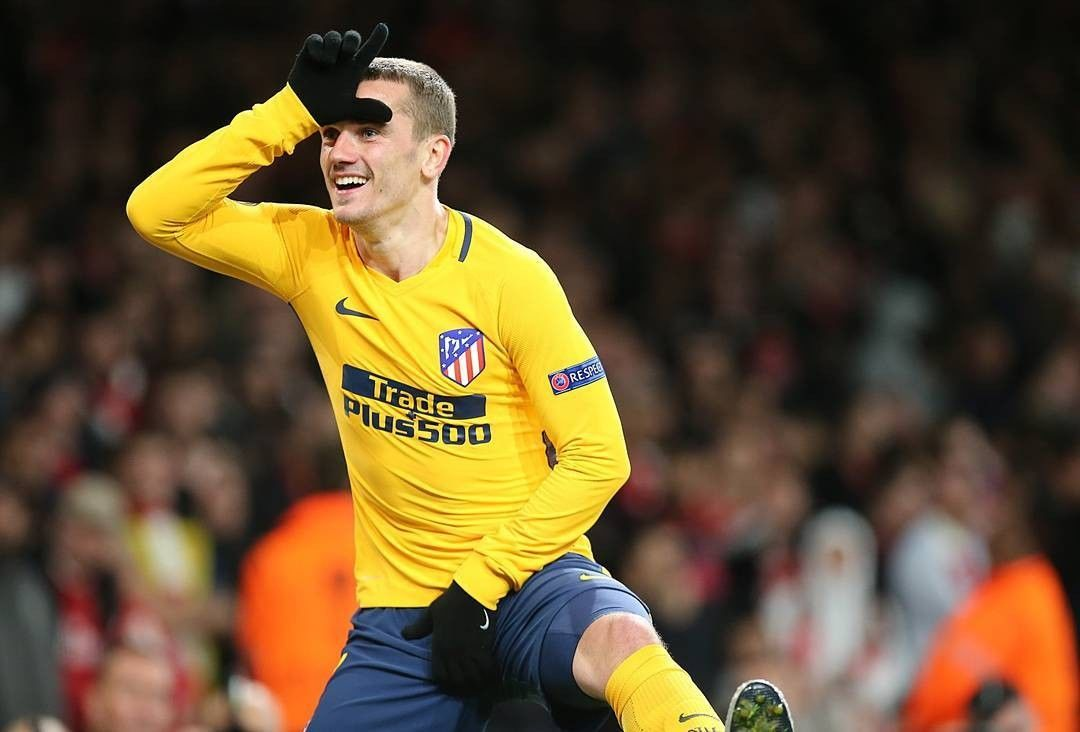 CUPLIKAN BOLA ATLETICO MADRID VS ARSENAL