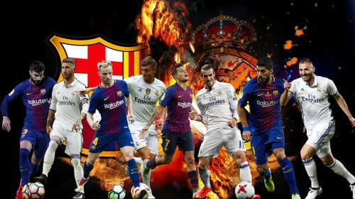 "Cuplikan Gol-Gol Terbaik Derby ""EL Clasico"" Barcelona vs Real Madrid"