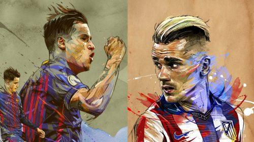 Prediksi Atletico Madrid vs Barcelona | La Liga Spanyol 2018-2019