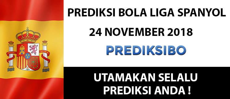 Prediksi Bola Liga Spanyol 24 November 2018