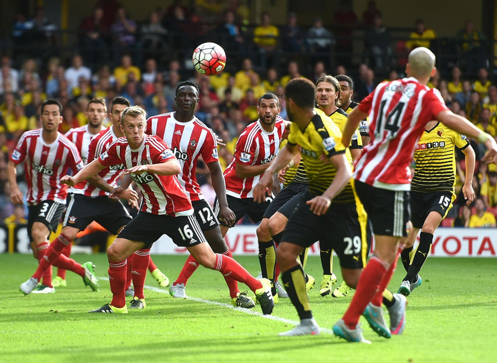Hasil Cuplikan Gol Watford vs Southampton