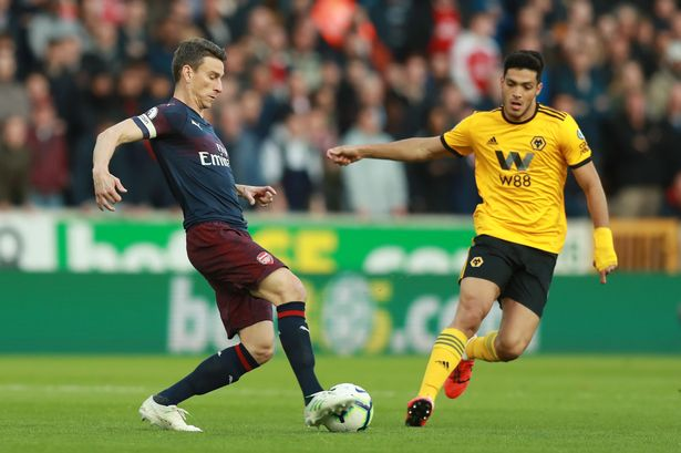 Hasil Cuplikan Gol Wolves vs Arsenal