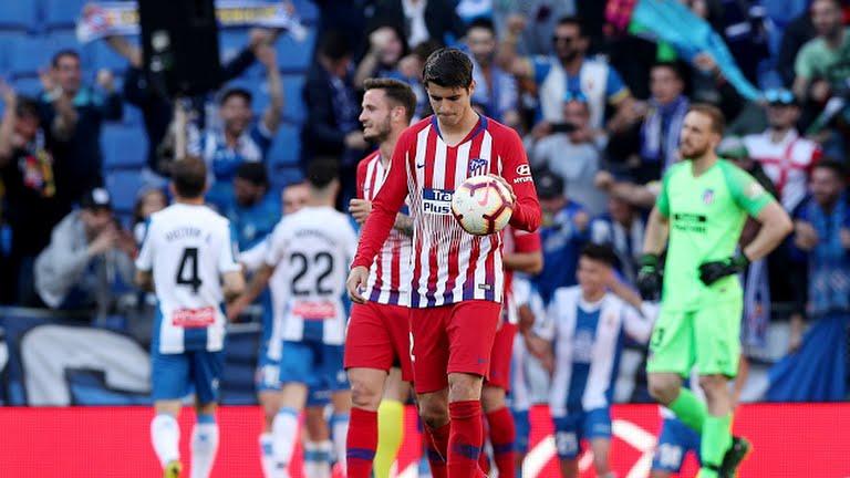 Hasil Cuplikan Gol Espanyol vs Atletico Madrid