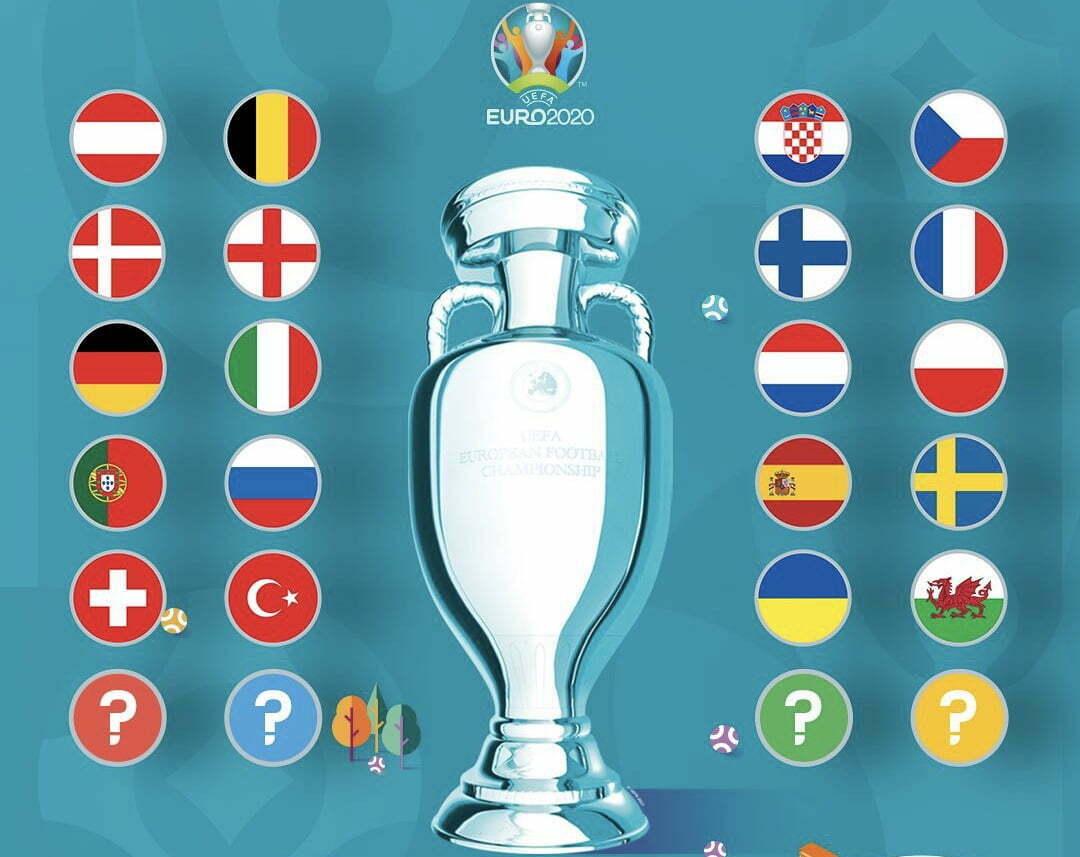 Negara Peserta Putaran Final EURO 2020