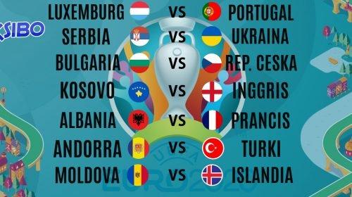 Prediksi Bola Kualifikasi EURO 2020 17-18 November 2019
