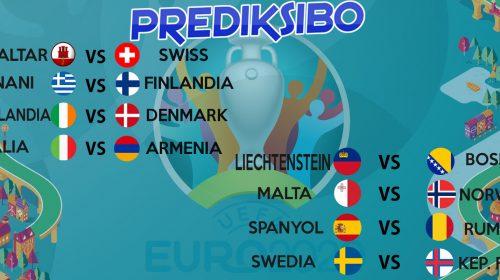 Prediksi Bola Kualifikasi EURO 2020 19 November 2019