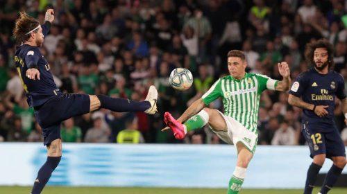 Hasil Cuplikan Gol Real Betis vs Real Madrid
