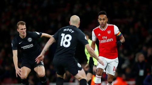 Prediksi Brighton vs Arsenal 14 Maret 2020