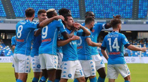 Hasil Cuplikan Gol Napoli vs Spezia